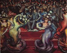 David Alfaro Siqueiros. From the Dictatorship of Porfirio Diaz to the Revolution, The People in Arms, 1957