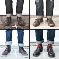 Cuffs  Boots // Denim by Imogene+Willie // Photography by Joshua Black Wilkins
