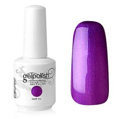 Elite99 Soak-Off Gel Polish UV LED Lamp 15ml Nail Art Gift Lacquer Pearl Purple - EXCLUSIVE DEAL! BUY NOW ONLY $3.99