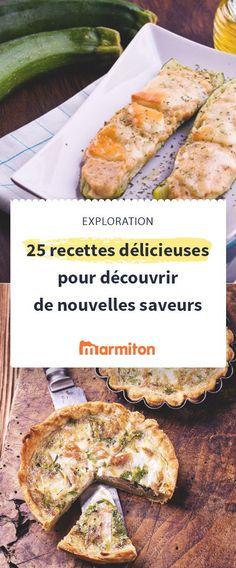 Osez goûter de nouvelles choses avec ces recettes originales #recette #marmiton #original