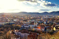 Graz von oben (Schlossberg) | Flickr - Photo Sharing! Photography Photos, Dolores Park, Explore, Travel, Graz, Viajes, Destinations, Traveling, Trips