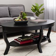 Elegant Distressed Black Entry Table