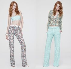 Versace 2014 Resort Womens Presentation - Cruise Collection Pre Spring ...
