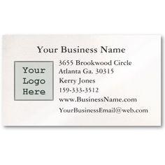 Plain Business Card #BusinessCards