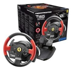 Thrustmaster t150 ferrari edition #steering #wheel for #ps4/ps3/pc,  View more on the LINK: 	http://www.zeppy.io/product/gb/2/111767140075/