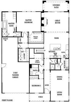 1000 Images About Dream Floor Plans On Pinterest New Home Plans New Homes And Floor Plans