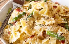 Creamy Brown Butter Farfalle with Asparagus and Crispy Prosciutto ...