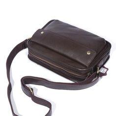 Handmade Leather Mens Cool Small Messenger Bag iPad Bag Chest Bag Bike Bag Cycling Bag for men Cool Messenger Bags, Cycling Bag, Ipad Bag, Bike Bag, W 6, Custom Bags, Long Wallet, Small Bags, Saddle Bags