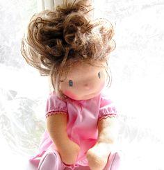 """15"""" Louie Louie Bebe Waldorf doll"""