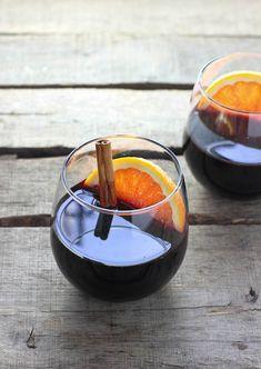 Mandarin Mulled Wine