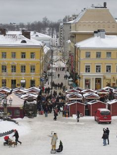 Are you travelling this year to Helsinki, Finland for their Christmas market?