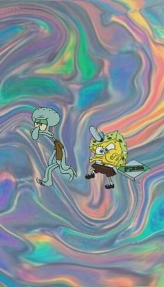 Spongebob Iphone Wallpaper, Disney Phone Wallpaper, Trippy Wallpaper, Iphone Background Wallpaper, Crazy Wallpaper, Wallpaper Wallpapers, Cute Cartoon Wallpapers, Pretty Wallpapers, Wie Zeichnet Man Spongebob