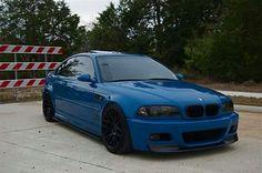 Beautiful Blue BMW E46 M3