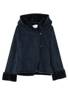 BORNY(ボルニー)のコート「フードエコショートムートン」のカラーやサイズごとの在庫、セール情報のページです。