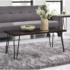 Mendocino Coffee Table Metal & Glass