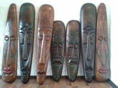 Mascaras africanas para piso | Clasf