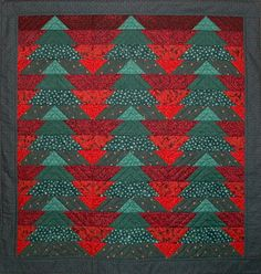 Image detail for -Christmas Forest Quilt Pattern by Castilleja Cotton
