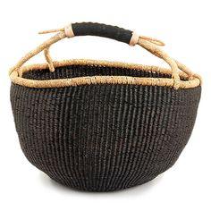 Basic Bolga Basket - Black