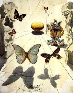 Allegorie de soie di Salvador Dalì