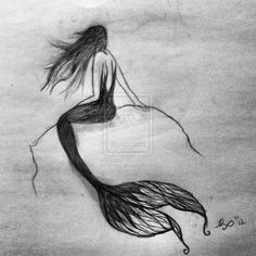 Mermaid Art | Anthro / Traditional Media / Drawings / Fantasy & Mythology ©2013 ...