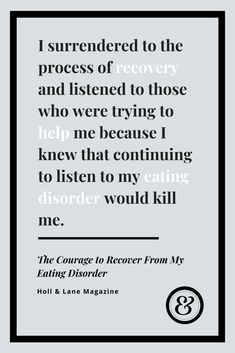 The Courage to Recover From My Eating Disorder — The Kindred Voice Encouraging Quotes For Women, Inspirational Quotes For Women, Uplifting Quotes, Last Night Quotes, Quotes Quotes, Deep Quotes, Qoutes, Mindful Eating Quotes, Body Image Quotes