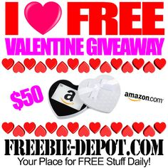 Enter to win a $50 Amazon Gift Card. The giveaway is open to  US residents only and ends February 14, 2016.