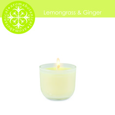 This fresh lemongrass scent is kicked up by ginger. Now available in a mini, great as a tester or for travel. Lemon Grass, Scented Candles, Glass Of Milk, Tea Lights, Fresh, Drinks, Mini, Travel, Drinking