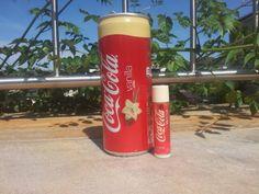 Cocacola Vanilla Lipsmacker Cocacola Vanilla Lipbalm, Vanilla Coke, Coke Cans, Energy Drinks, Red Bull, Coca Cola, Soda, Beverages, Canning