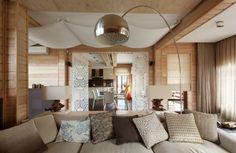 Интерьер коттеджа площадью 200 кв.м. - Дизайн интерьеров | Идеи вашего дома | Lodgers
