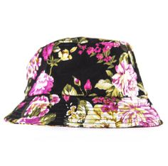 739ed26c67e Reason Jumbo Floral Bucket Hat