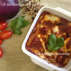 Melanzane alla parmigiana? NO Sono lasagne alla melanzana: semplici , veloci, innovative e.. buone!!!