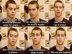 Dylan O'brien on stiles season 3
