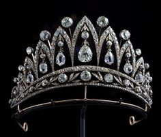 Empress Joséphine Tiara, France made by Fabergé; Royal Crowns, Royal Tiaras, Royal Jewels, Tiaras And Crowns, Hair Jewels, Crown Jewels, Unusual Jewelry, Fine Jewelry, Patricia White