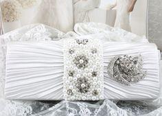 Wedding Clutch Wedding Purse Bridal Clutch by goddessdesignsgems