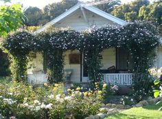 Carpinteria Vacation Rental - VRBO 140857 - 3 BR Santa Barbara Area Cottage in CA, Rose Story Farm Charming Cottage
