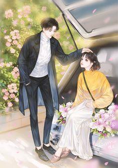 Anime Couples Drawings, Anime Couples Manga, Chica Anime Manga, Anime Art, Romantic Anime Couples, Romantic Manga, Cute Couples, Manga Couple, Anime Love Couple