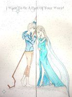 """Jack and Elsa: """"I want to be apart of your world..."""""""