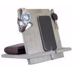 Our docking stations are compatible with all cell phones and make a great anniversary or birthday gift for men. Handcrafted in the USA!