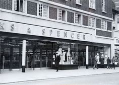 M & S right next to Timothy Whites, London Road, Brighton. 1950s
