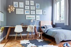 Modern Touches for a Teenage Room, Kids bedroom ideas with design led furniture by Kreathaus