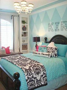 New Blue Teenage Room