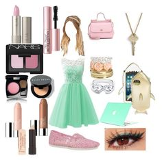 """#131"" by kitchenkalie ❤ liked on Polyvore featuring With Love From CA, Wet Seal, Dolce&Gabbana, Skechers, NARS Cosmetics, Too Faced Cosmetics, Lancôme, Chanel, Bobbi Brown Cosmetics and Clinique"