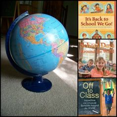Let's Explore Schools from Around the World -- great books & hands-on activities for kid to learn how education is different across the globe!