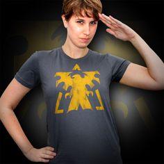 StarCraft II Terran Vintage Logo Women's Tee $22.99 2XL