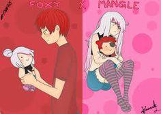 Resultado de imagen para mangle fnafhs anime