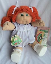 1984 Coleco Cabbage Patch Kid Louise Elnora, En Caja malo, Ok Fábrica
