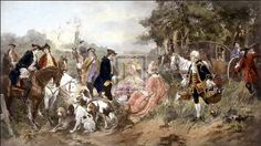 A Picnic Party Of Madame Du Barry