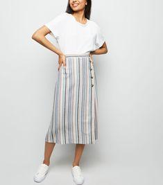 cea4d1a1bd8 Black Linen Blend Paperbag Mini Skirt in 2019