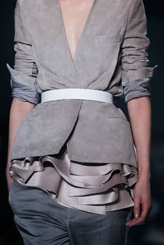 Haider Ackermann Fashion show details