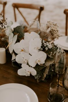 THE OCEANIC EDIT | GC Hitched Bohemian Beach, Fig Tree, Gold Coast, Bridal Gowns, Wedding Planner, Grass, Reception, Ocean, Table Decorations